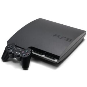 Sony PlayStation PS3 Slim 160GB game system / BD player + extras