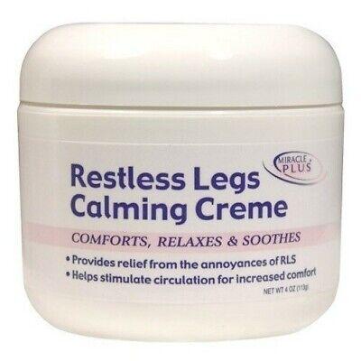 Pain Relief Cream Restlessness Legs Help Combat Fatigue Irritability Shaking NEW