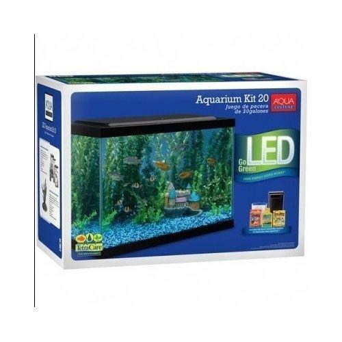 20 gallon fish tank ebay 20 gallon fish tank kit ebay for Fish tank cleaning kit