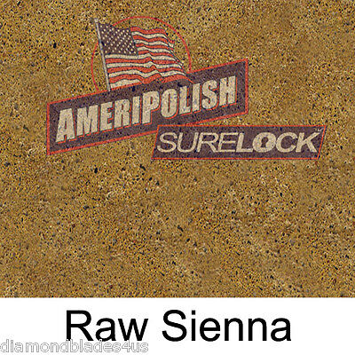 1 Gl. Raw Sienna Concrete Color Dye For Cement Stain Ameripolish Surelock Color