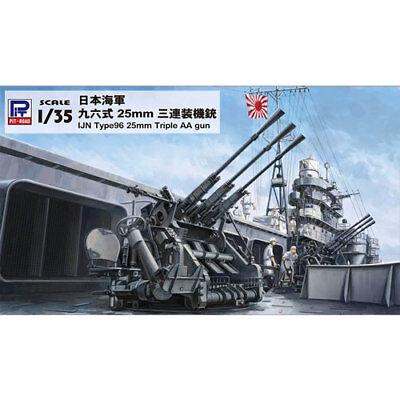 """Imperial Japanese Navy Type 96 25mm Triple Anti-Air Gun"" 1/35 Pit-Rord"