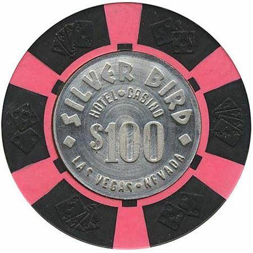 Silver Bird Casino Las Vegas $100 Chip 1976