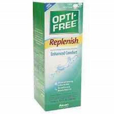 Exp (10/17) OPTI-FREE REPLENISH MULTI-PURPOSE DISINFECTING SOLUTION WITH FREE (Opti Free Replenish)