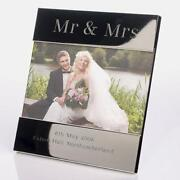 Engraved Wedding Photo Frame