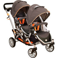 Double Stroller/Pousette for Double Bike Trailer/Remorque