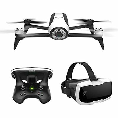 Parrot BeBop 2 Drone with FPV Bundle - Black / White (PF726203)
