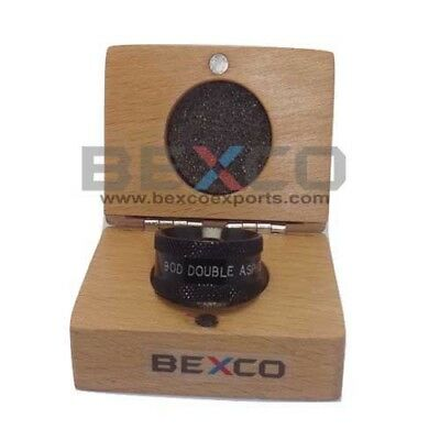 90d Double Aspheric Non Contact Lens For Ophthalmology In Wooden Case