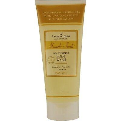 Muscle Soak Body Wash 6.7 oz Blend Of Eucalyptus, Peppermint, And Lemongrass Muscle Soak Lemongrass Body Wash