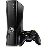 Xbox360 slim 120GB avec plusieurs jeux