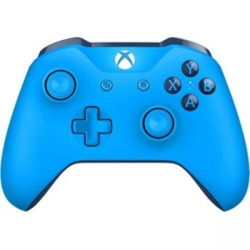 Xbox Wireless Controller Blue  -  Wireless - Bluetooth - Xbox One - PC