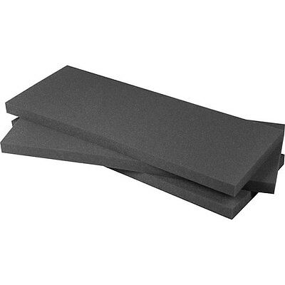 Pelican 1750 replacement foam. 3 piece solid foam set for the Pelican (3 Piece Replacement Foam)