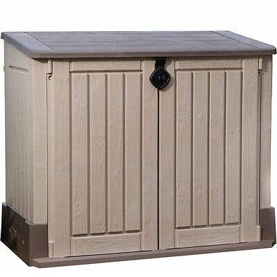 Keter 30 cu. ft Storage Shed, Taupe