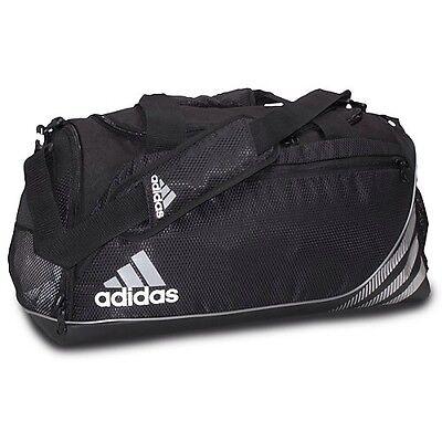 adidas Team Speed Duffel Black Size Medium Q08523 $60
