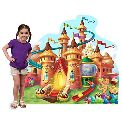 CANDY CASTLE Candy Land CARDBOARD CUTOUT Standee Standup Poster FREE SHIPPING