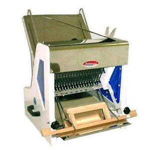 Gravity Feed Bread Slicer - Bakemax BMGF001 - Free Shipping - iFoodEquipment.ca