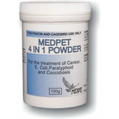 Pigeon Product 4 in 1 Powder by Medpet for Racing Pigeons