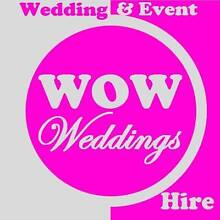 WOW Weddings and Event Hire Griffin Pine Rivers Area Preview