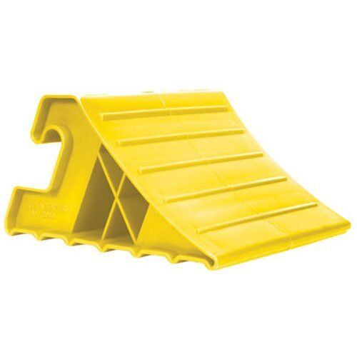 Camco 44492 Super Tires & Wheel Chock, Yellow, USA