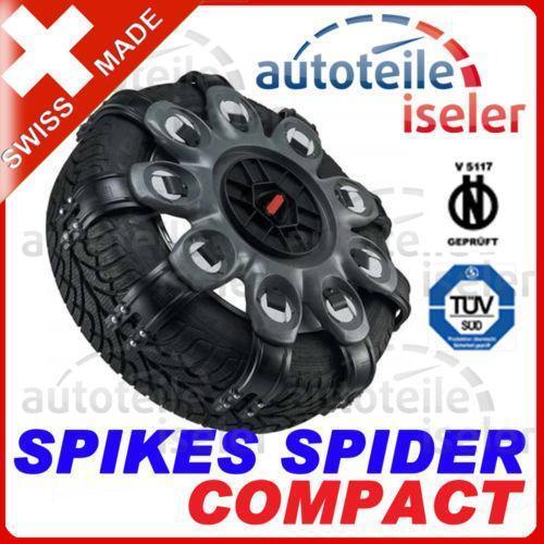 spikes spider schneeketten ebay. Black Bedroom Furniture Sets. Home Design Ideas