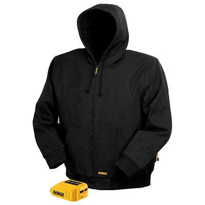 DEWALT 12V/20V MAX Heated Jacket (Black) XXXL DCHJ061B-3XL New