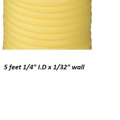 5 Feet 14 I.d New Latex Rubber Tubing Surgical Grade Amber All One Piece