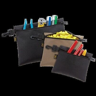 3 Pack Lot Golf Caddy Zippered Clip-On Tool Pouch Ditty Bags Tees Balls CLC 1100