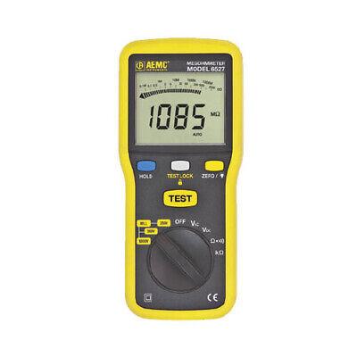 Aemc 6527 2126.53 Digital Handheld Megohmmeter 1000v Max Voltage