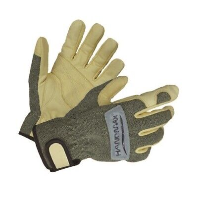 HANDMA Welding Goat Leather Gloves Waterproof Hand Protect Safety Work Free Size