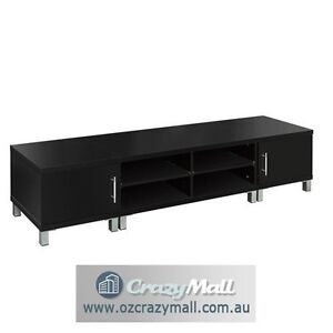 190cm TV Stand Entertainment Unit Cabinet Black/White Sydney City Inner Sydney Preview