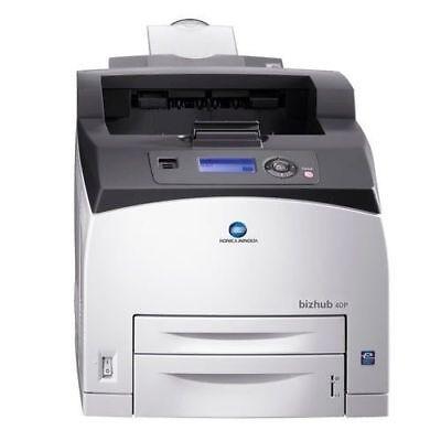 Konica Minolta BIZHUB 40P Laserdrucker mit Netzwerk (Neu)
