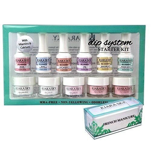 Kiara Sky DIP Dipping Powder System Starter Kit + Dipping Ca