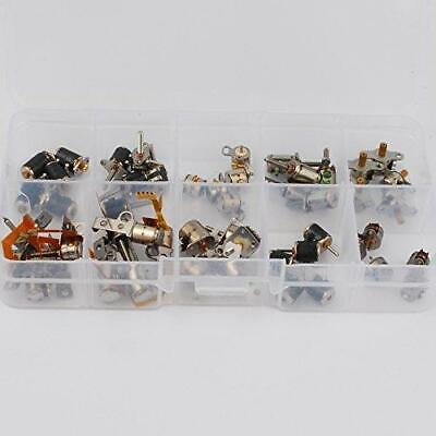 50pcs 3-5v Dc 4 Wire 2 Phase Micro Stepper Motor Mini Stepping Motor 10 Types