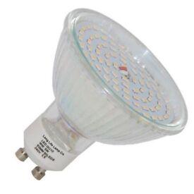 Led GU10 63mm bulbs x2