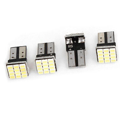 t10 w5w weisse canbus 1206 12 smd auto led gluehbirnen lampe 12v 4 stueck et. Black Bedroom Furniture Sets. Home Design Ideas
