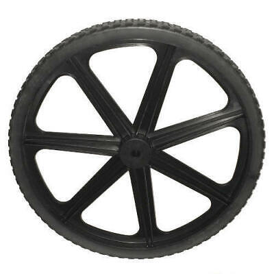Rubbermaid Cart Replacement Wheels - Rubbermaid 7 Spoke New Style M1564200 Replacement Wheel for 5642-61 Cart - NEW