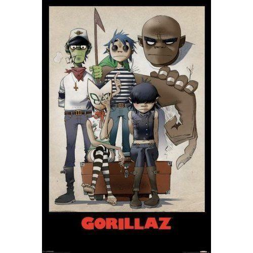 Gorillaz Noodle Ebay