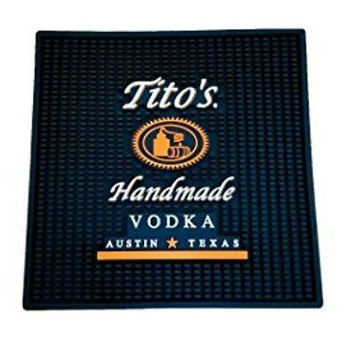 "Tito's Vodka Waitstation Bar Mat 16"" Extra Large Austin Texas"