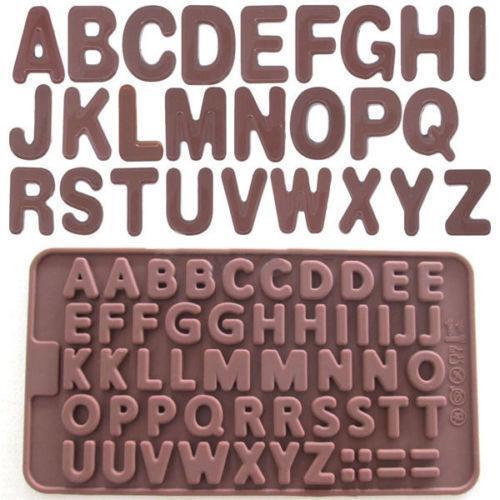 silicone alphabet mold ebay