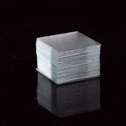100 pcs Glass Micro Cover Slips 18x18mm - Microscope Slide Covers TS