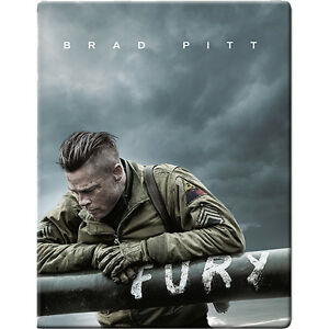 BLU-RAY! FURY LIMITED EDITION STEELBOOK