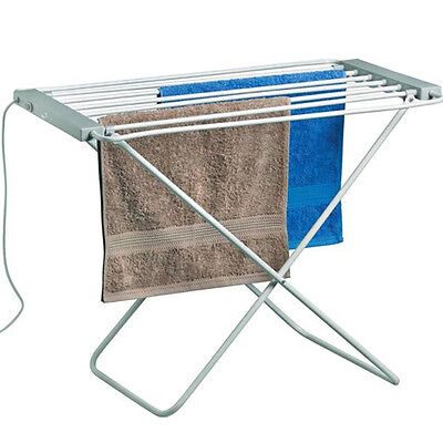 ELECTRIC CLOTHES AIRER DRYER INDOOR HORSE RACK LAUNDRY FOLDING WASHING DRY NEW