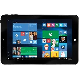 Insignia NS-15MS0832B-10-C 8in 32GB Window 10 Tablet with Intel
