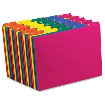 Pendaflex Poly Top Tab File Guide - Printeda To Z - 8.50