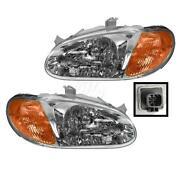 Kia Sephia Headlight