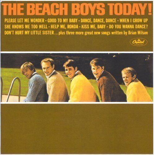 THE BEACH BOYS Today!/Summer Days (And Summer Nights) CD BRAND NEW Remaster