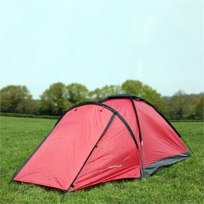 NORTH GEAR CAMPING MONO 2 MAN WATERPROOF DOME TENT