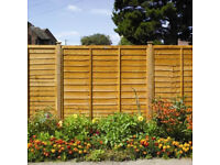 Timber Fence Panel 6x6 6ft Fence Panels Lap Panel