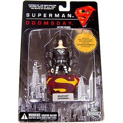 Death of Superman vs Dooomsday SOLAR Superman Suit 5in figure DC Direct - Superman Suits