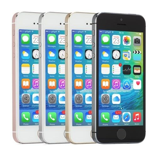 SELLER REFURBISHED APPLE IPHONE SE SMARTPHONE (CHOOSE AT&T SPRINT GSM UNLOCKED VERIZON OR T-MOBILE)