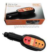 12 Volt Battery Tester
